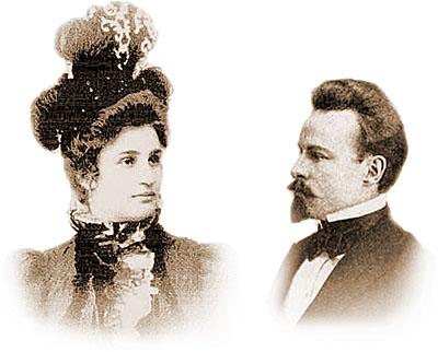 М. Лохвицкая и К. Бальмонт